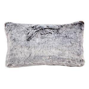 New Faux Fur Decorative Pillow Hudson Park